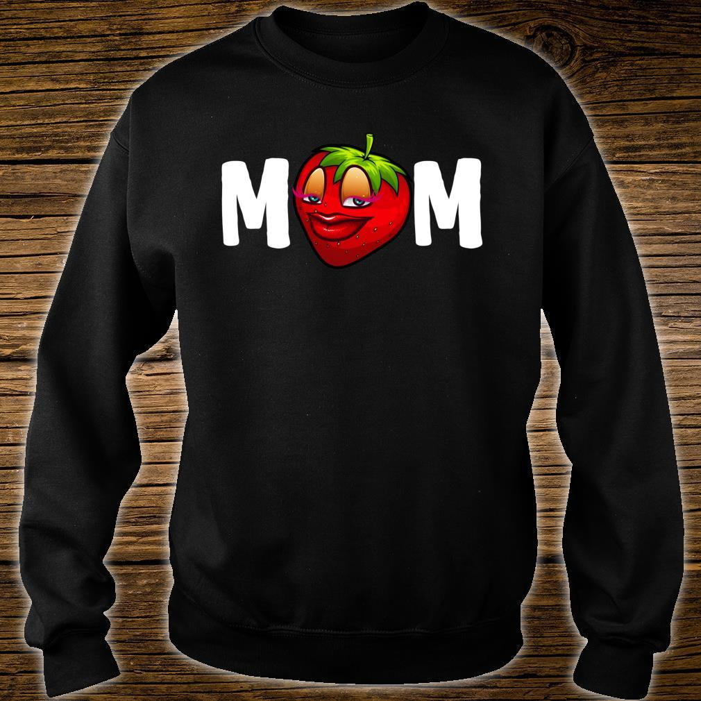 Mother's Day Strawberries Design Mom Strawberry Shirt sweater
