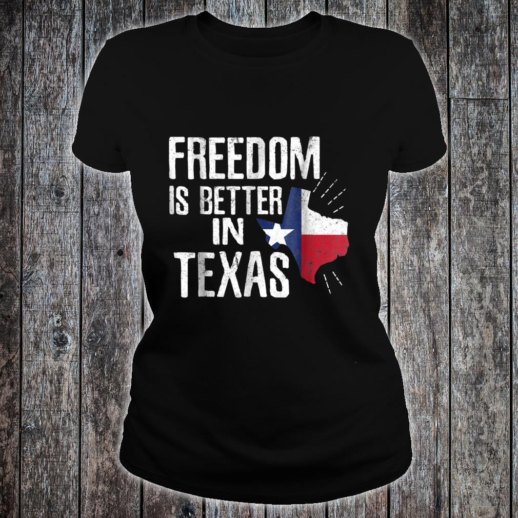 Texas Independence Day Shirt Bigger In Texan March 2nd Shirt ladies tee