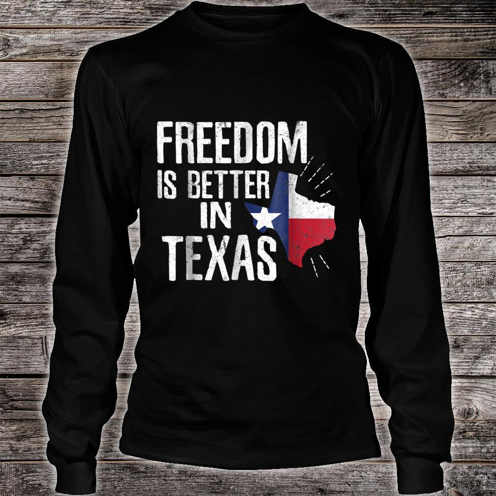 Texas Independence Day Shirt Bigger In Texan March 2nd Shirt long sleeved