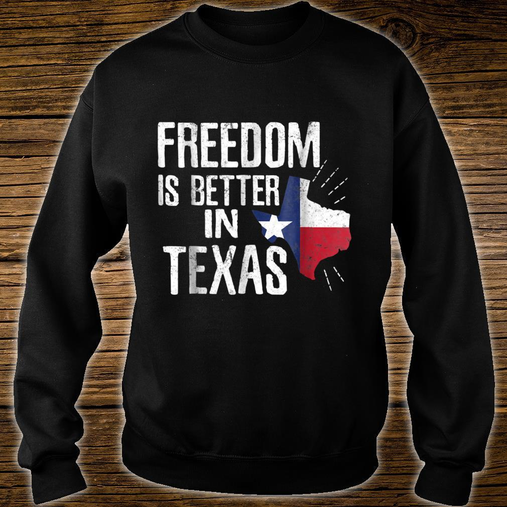 Texas Independence Day Shirt Bigger In Texan March 2nd Shirt sweater