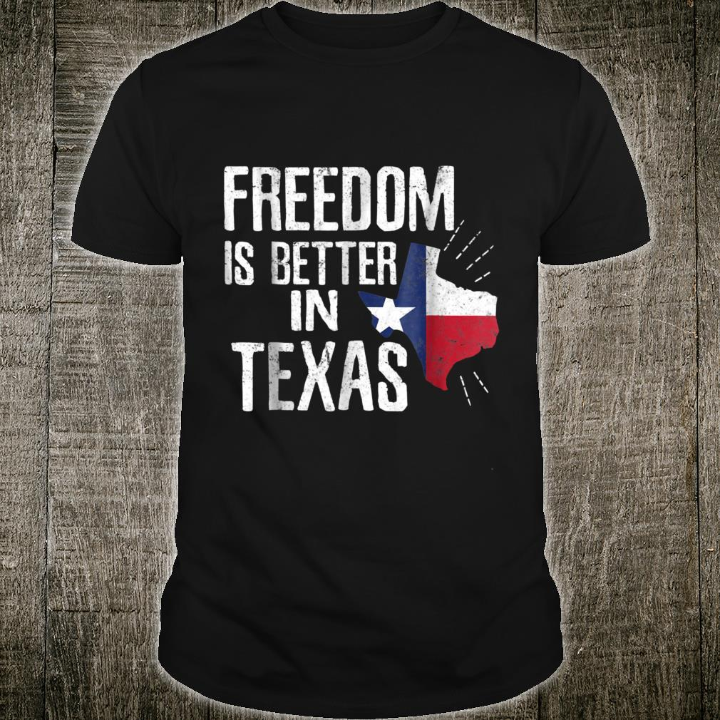 Texas Independence Day Shirt Bigger In Texan March 2nd Shirt